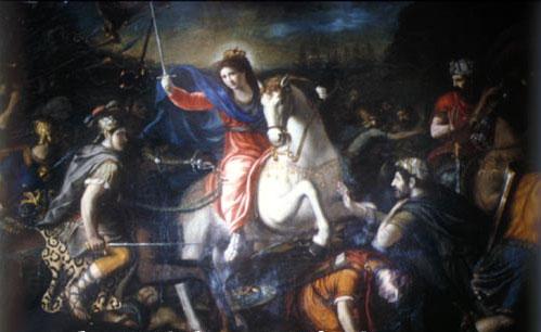 Vergine guerriera