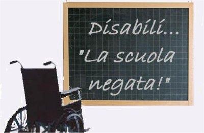 scuola disabili