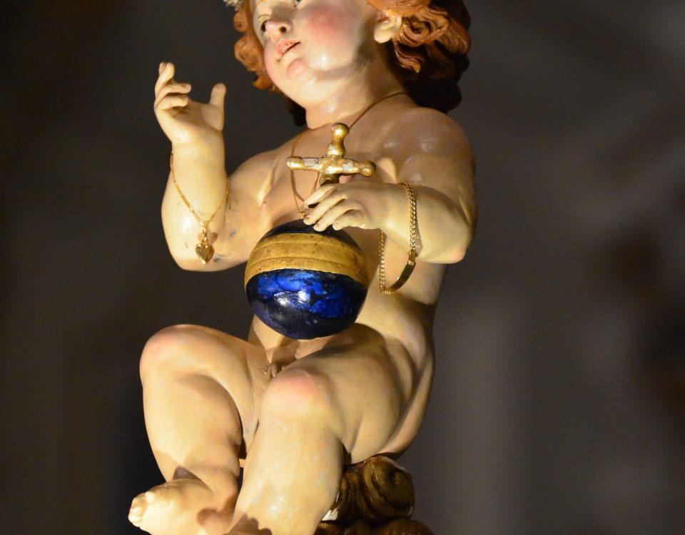 Gesù bambino di San Bartolomeo, cicidda r'oru (foto Salvatore Pluchino)