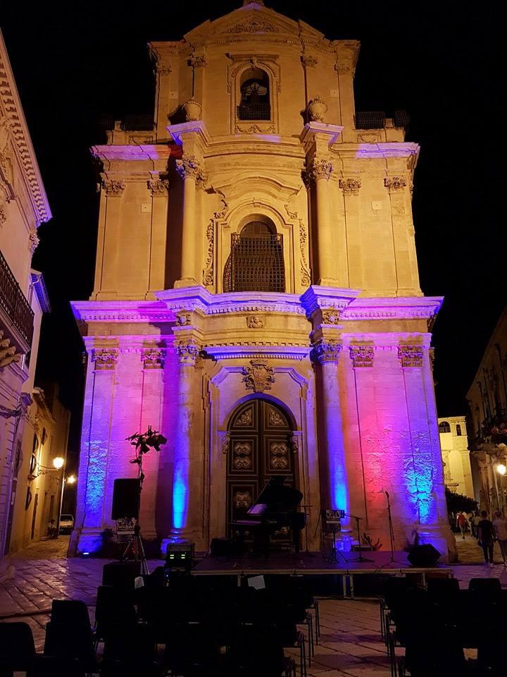 Notte bianca a Scicli.