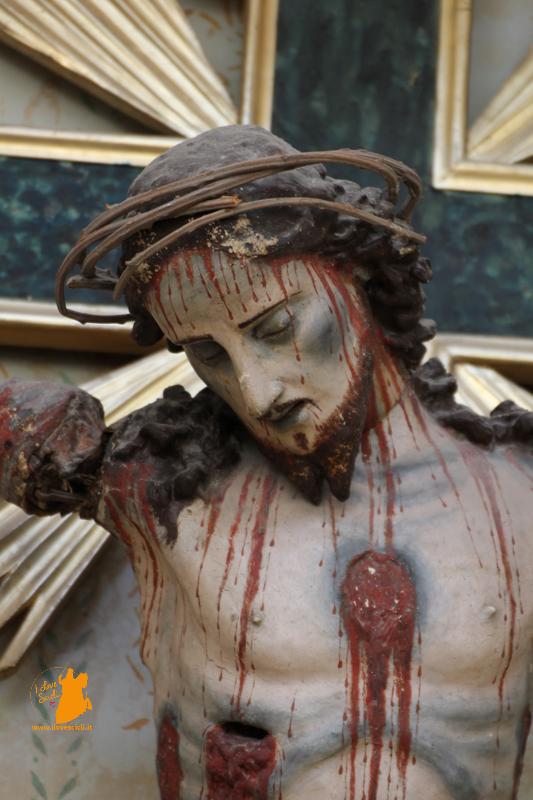 restauro Crocifisso chiesa San Michele Scicli