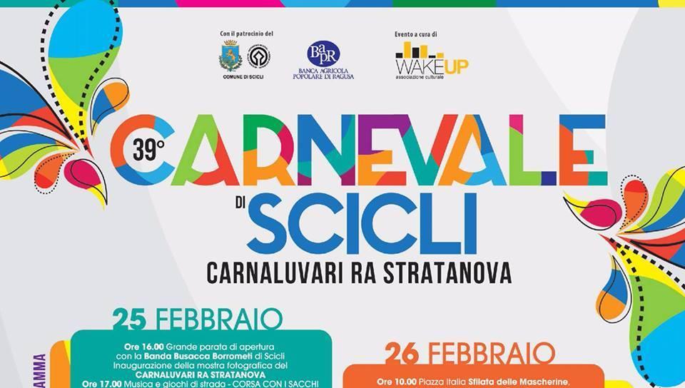 Carnevale di Scicli Carnaluvari ra stratanova