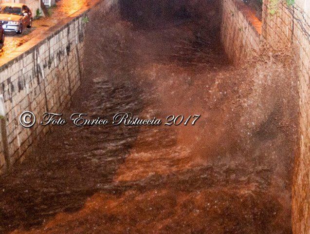 Alluvione Scicli gennaio 2017 foto Enrico Ristuccia