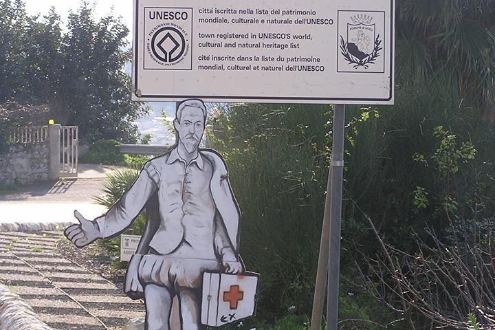 Scicli Ospedale Busacca _ vignetta Guglielmo Manenti