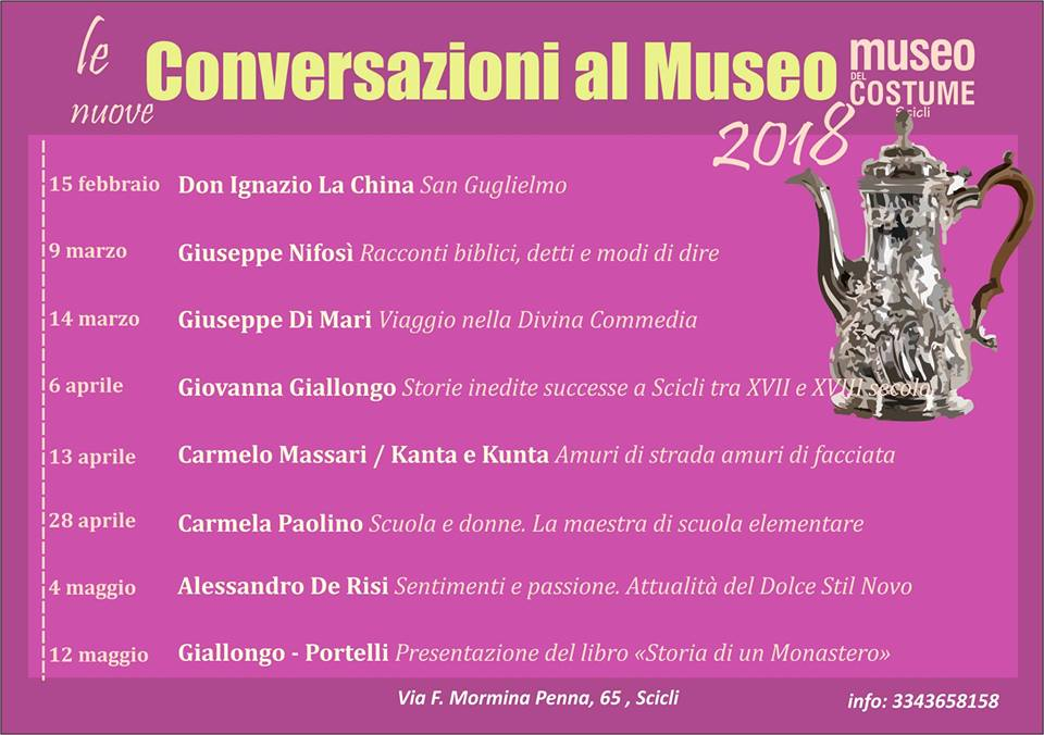 Museo del Costume conversazioni