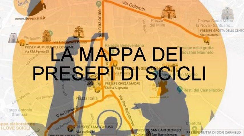 Mappa presepi Scicli