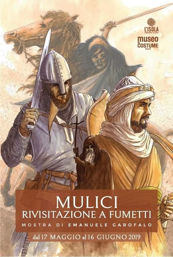 Mulici, mostra a fumetti di Emanuele Garofalo