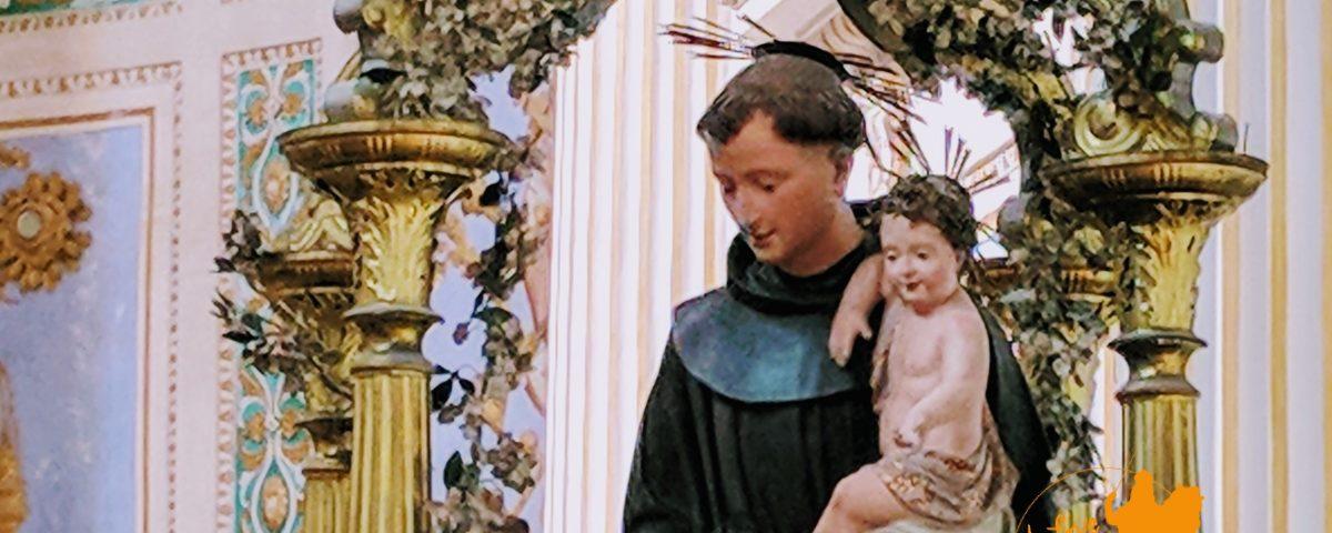 statua di Santo Antonio (foto Emanuele Caschetto)