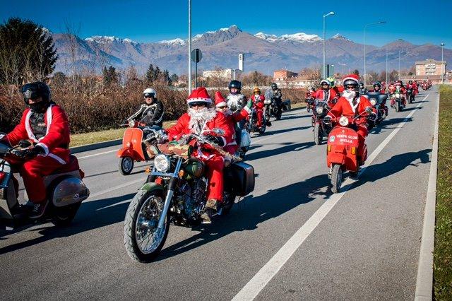 Motogiro di babbo natale 2019