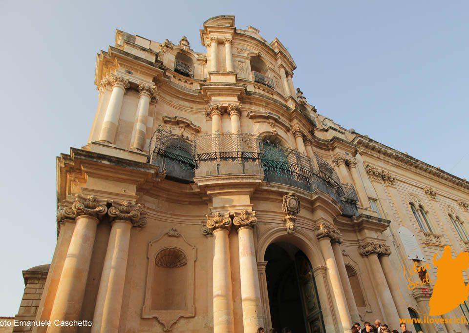 Scicli - chiesa di San Giovanni. Prospetto