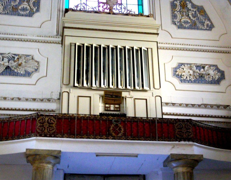organo a canne chiesa