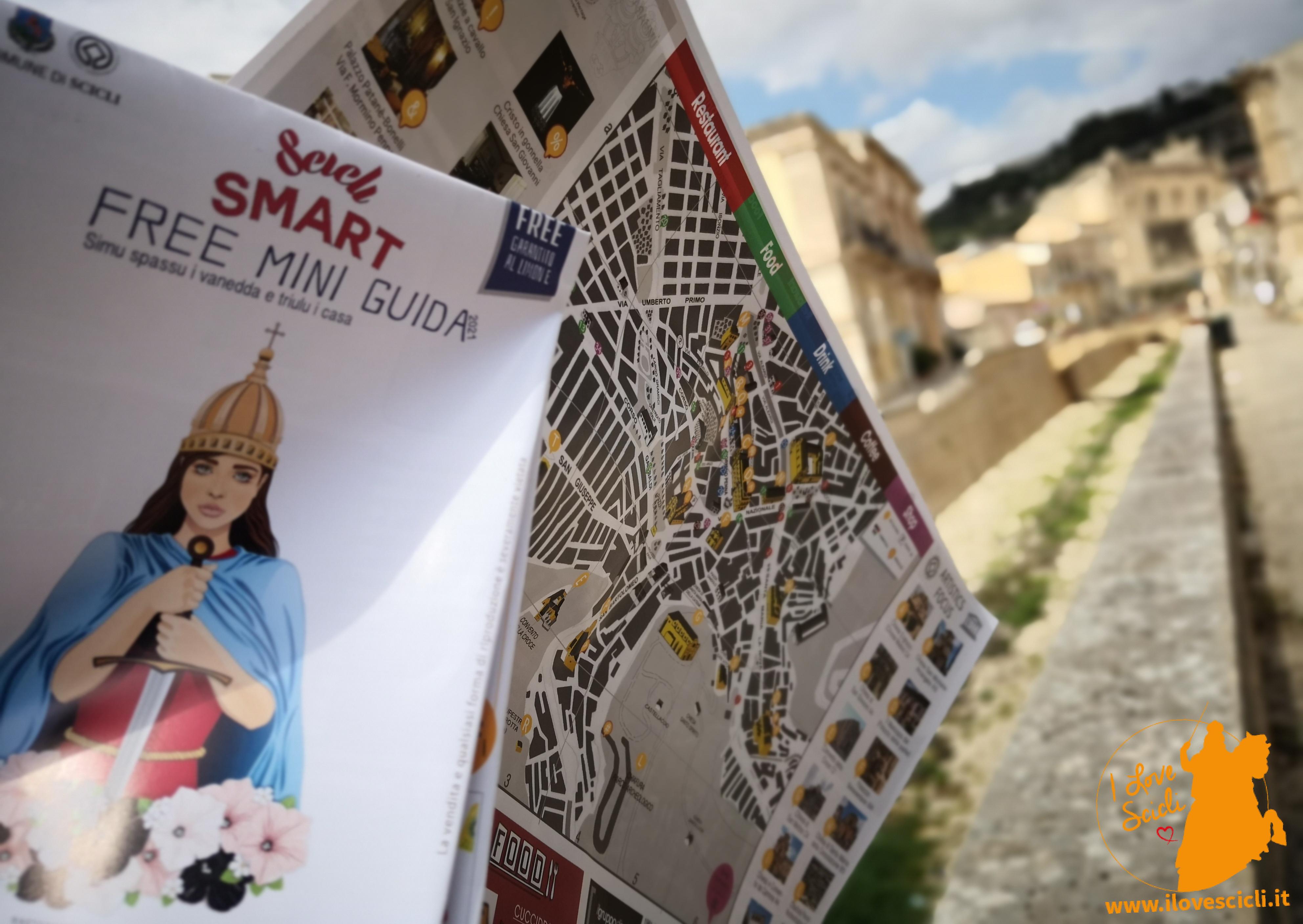 mappa turistica Scicli
