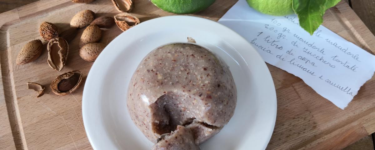ricetta budino di mandorle